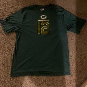 Authentic NFL Arron Rodgers shirt